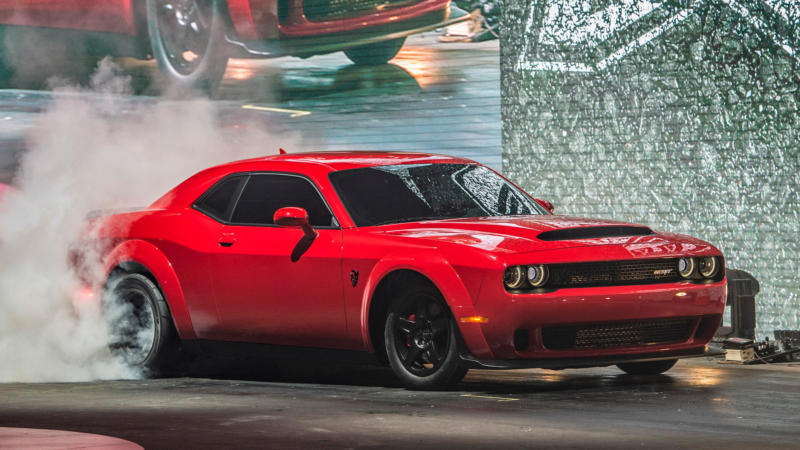 Фото Dodge Challenger SRT Demon