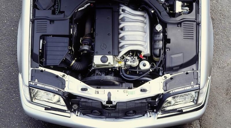 Двигатель Mercedes-Benz W140