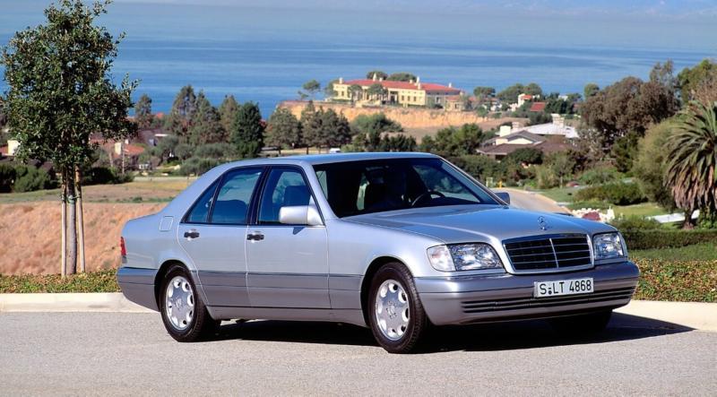 Фотография Mercedes-Benz W140