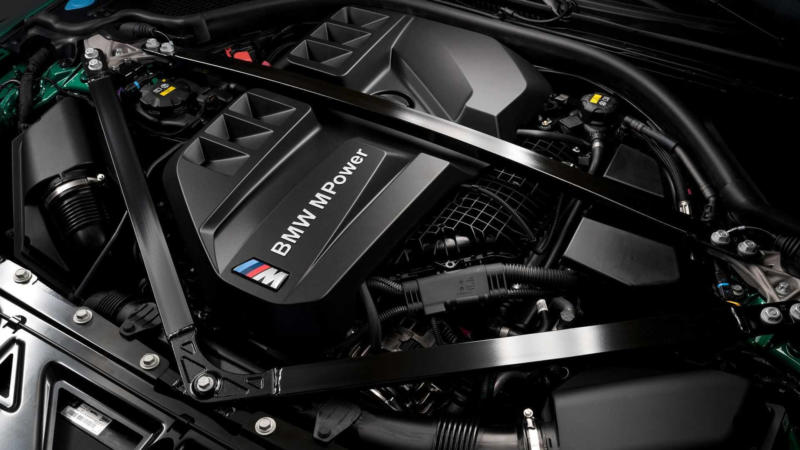 Двигатель BMW M3 Competition