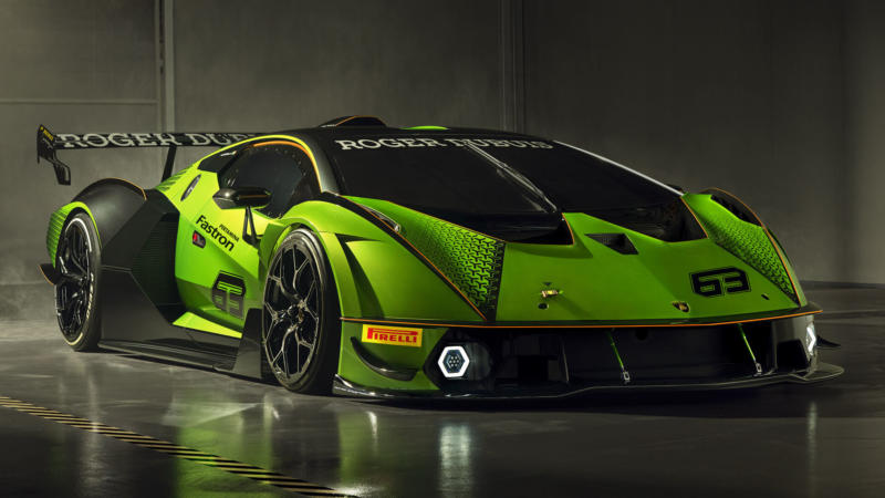 Lamborghini Essenza SCV12 вид спереди