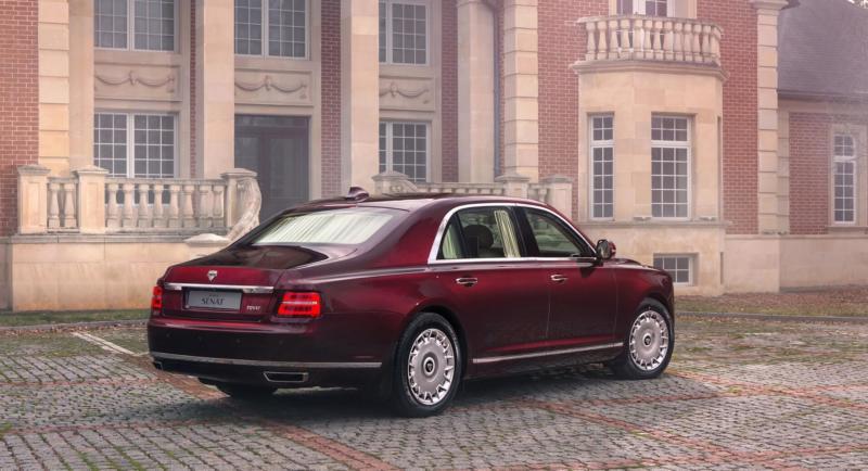 Aurus Senat фото авто