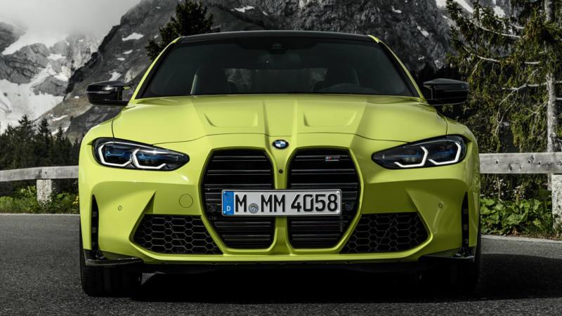 BMW M4 Coupe Competition вид спереди