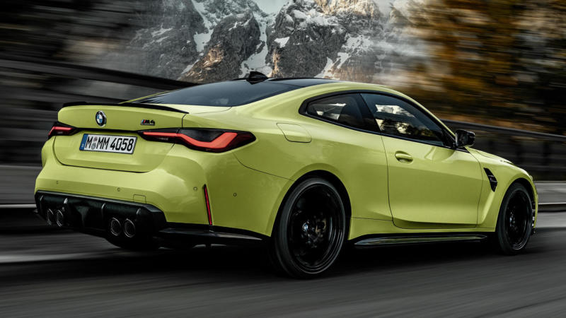 Спорткар BMW M4 Coupe Competition