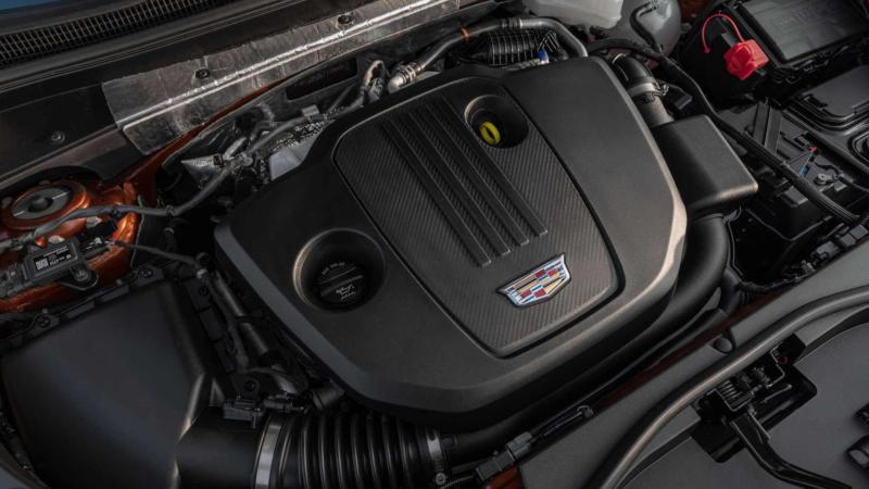 Двигатель Cadillac XT4