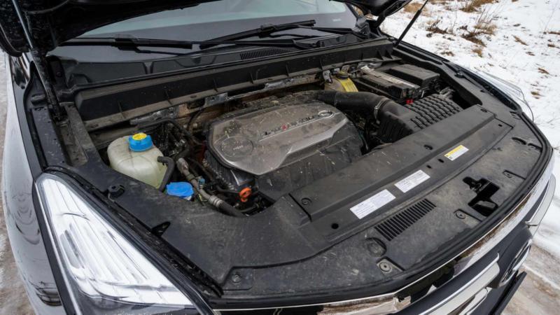 Двигатель GAC GS8