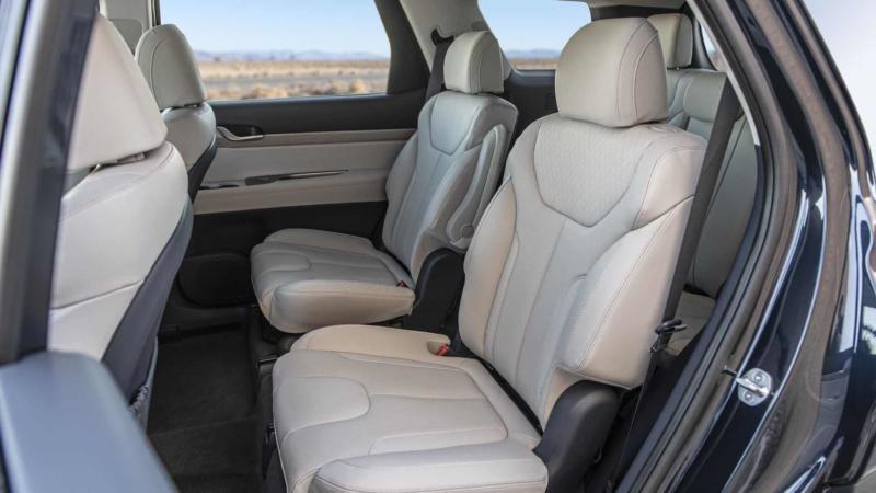 Hyundai Palisade фото салона