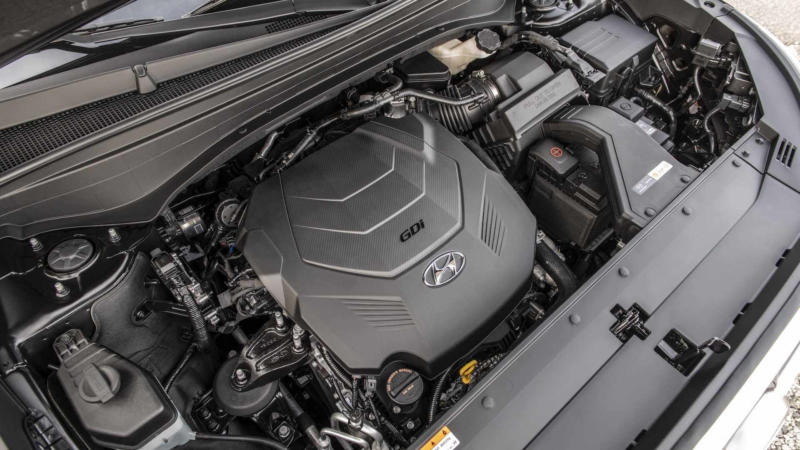 Двигатель Hyundai Palisade