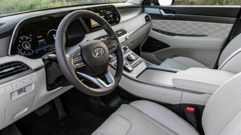 Интерьер Hyundai Palisade