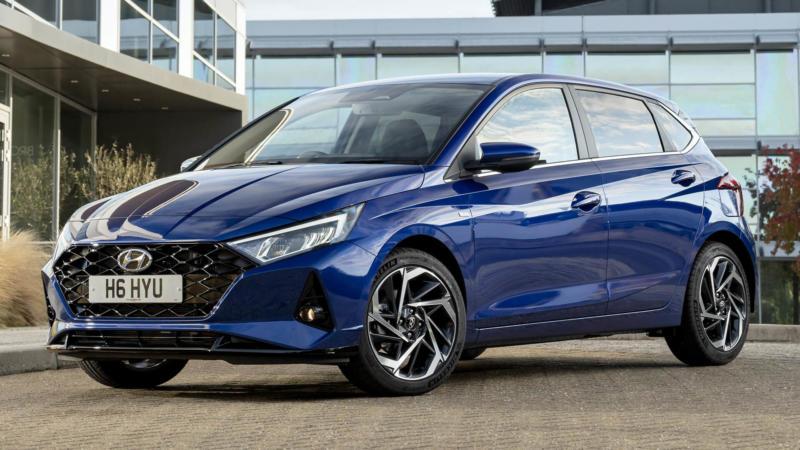 Hyundai i20 фото авто