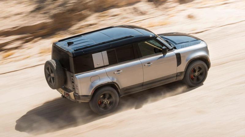 Фото авто Land Rover Defender