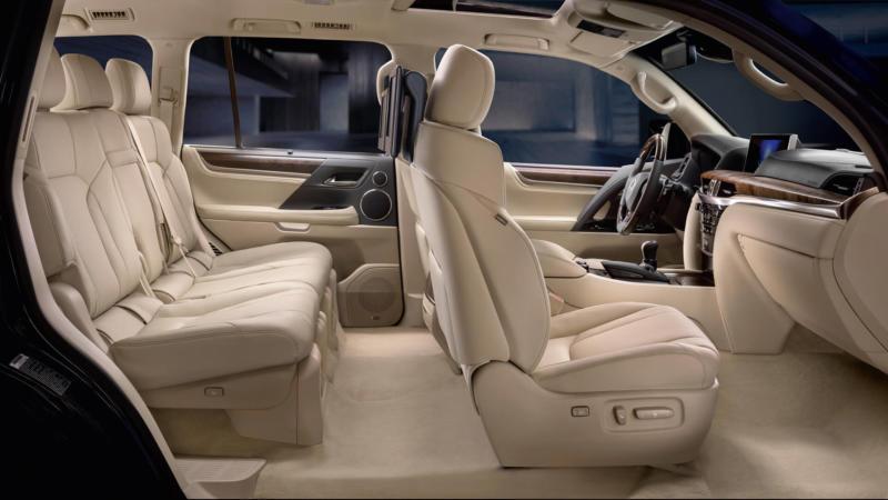 Салон Lexus LX570
