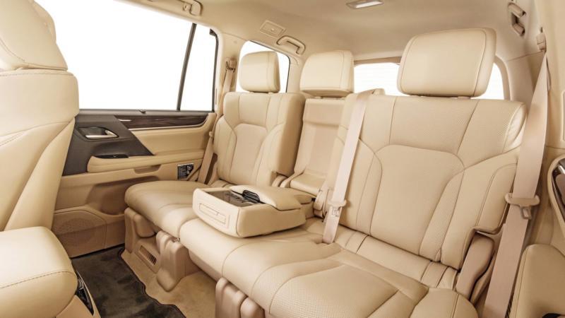 Lexus LX570 фото салона