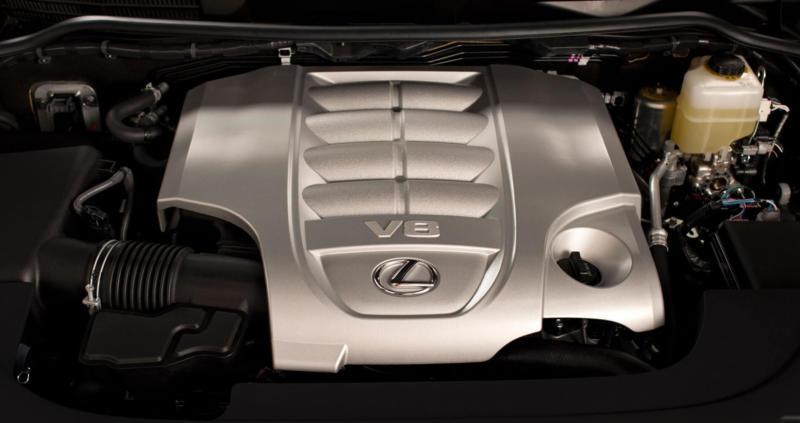 Двигатель Lexus LX570