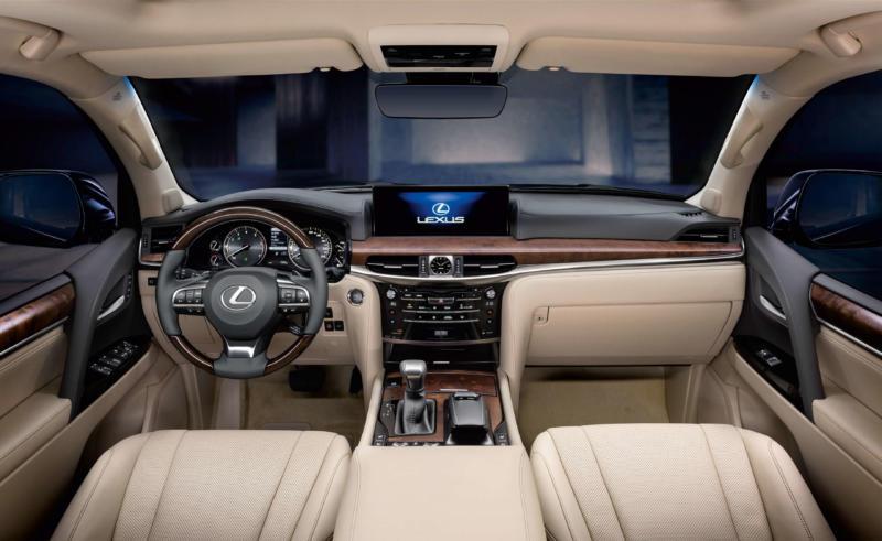 Интерьер Lexus LX570