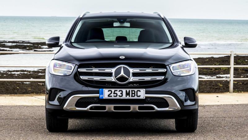 Mercedes-Benz GLC вид спереди