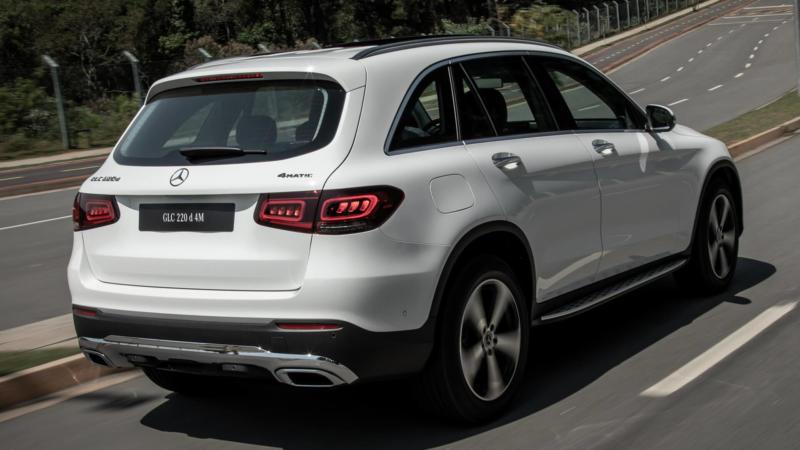 Mercedes-Benz GLC вид сзади