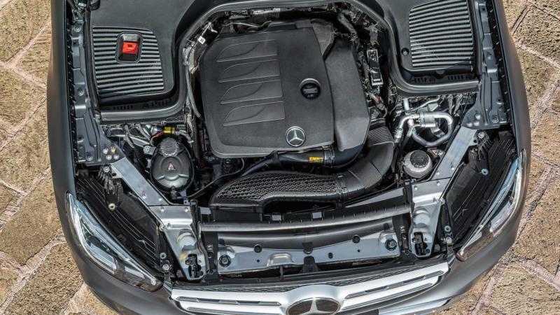 Двигатель Mercedes-Benz GLC