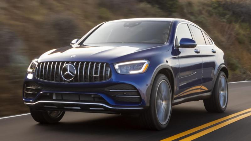 Вид спереди Mercedes-Benz GLC