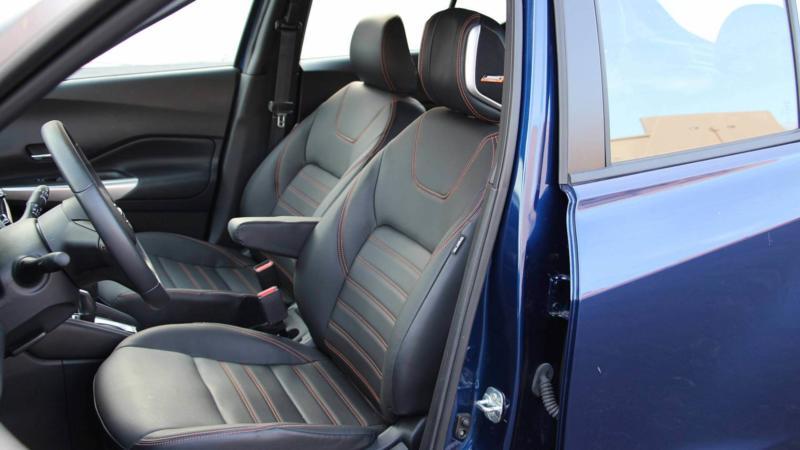 Передние сиденья Nissan Kicks