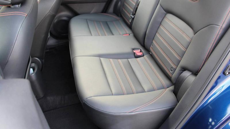 Nissan Kicks задние сиденья