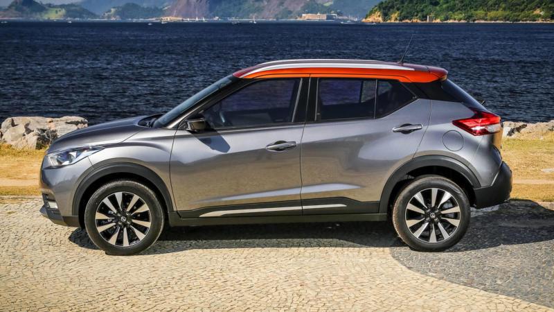 Nissan Kicks вид сбоку