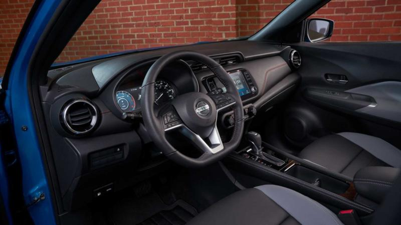 Интерьер Nissan Kicks 2021