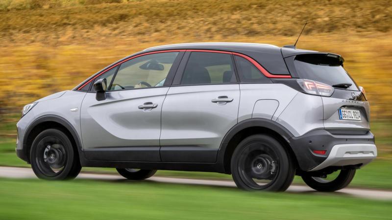 Opel Crossland фото авто
