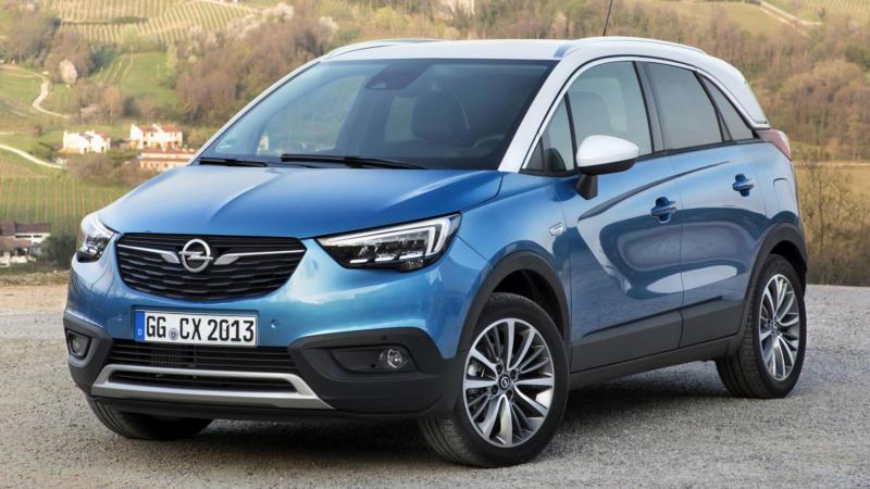 Opel Crossland X вид спереди