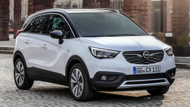 Opel Crossland X 2017 года