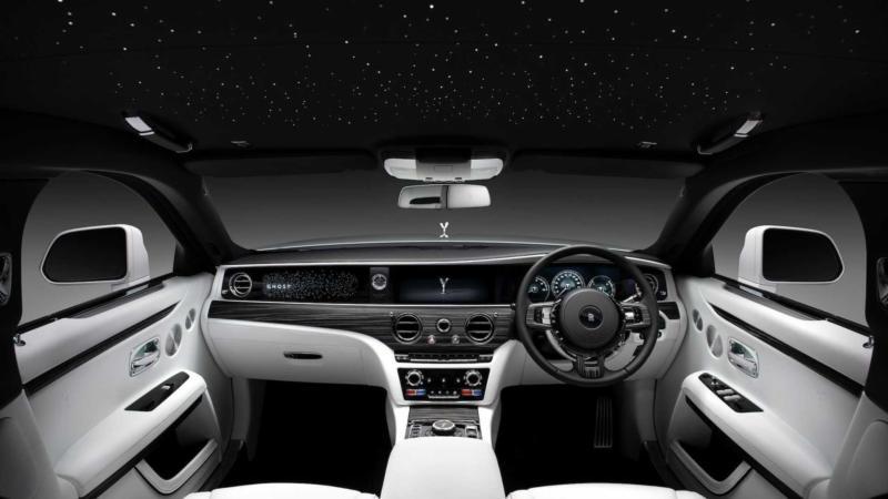Интерьер Rolls-Royce Ghost