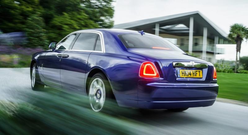 Рестайлинг Rolls-Royce Ghost