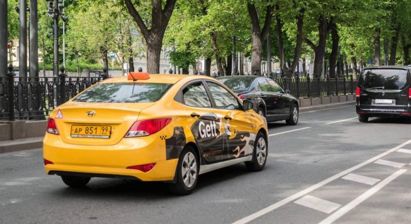 Такси Gett фото авто