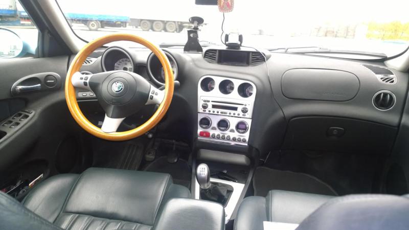Интерьер Alfa Romeo 156