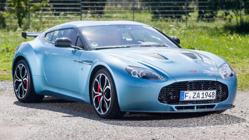 Фото Aston Martin V12 Zagato