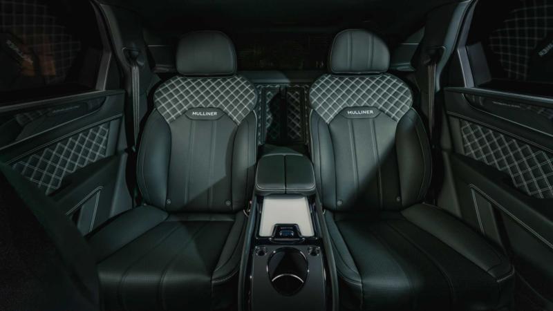 Bentley Bentayga задний ряд
