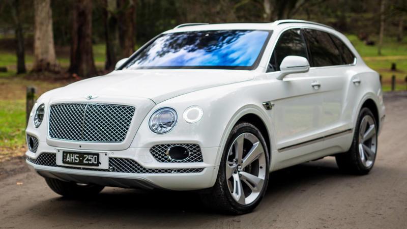 Bentley Bentayga фото авто