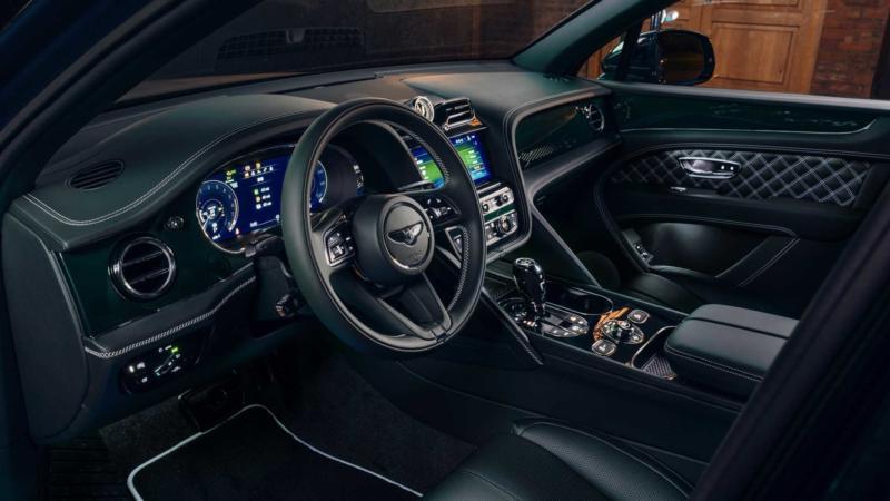 Bentley Bentayga фото салона