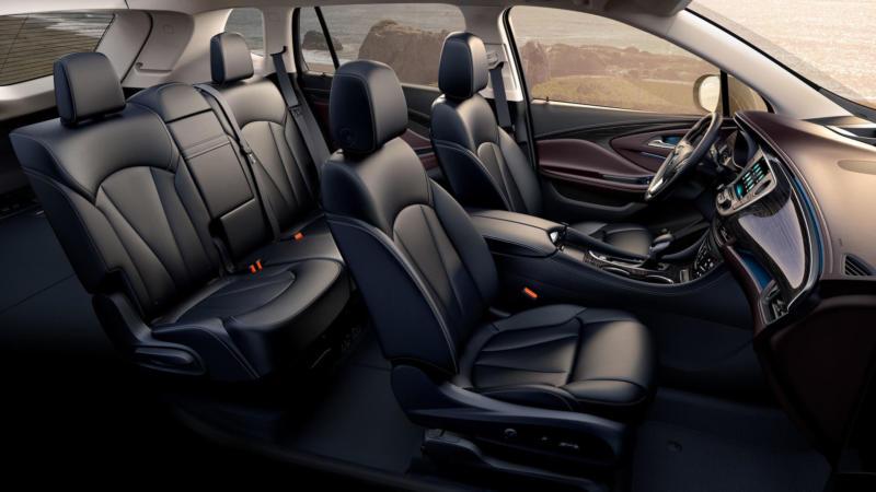 Салон Buick Envision