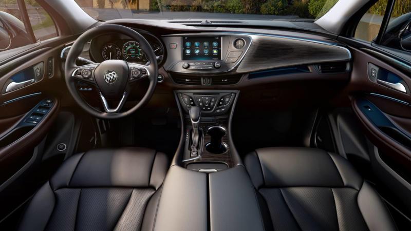 Интерьер Buick Envision