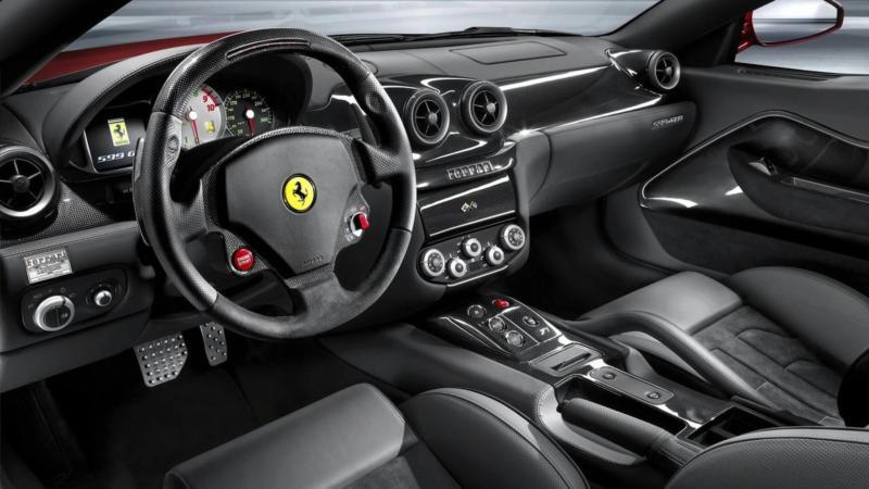 Интерьер Ferrari 599 GTB Fiorano