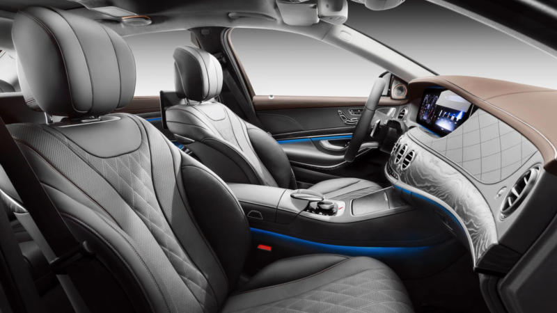 Mercedes-Benz S-Class фото салона
