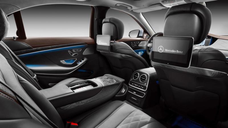 Mercedes-Benz S-Class задний диван