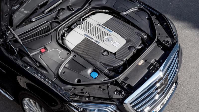 Двигатель Mercedes-Benz S-Class