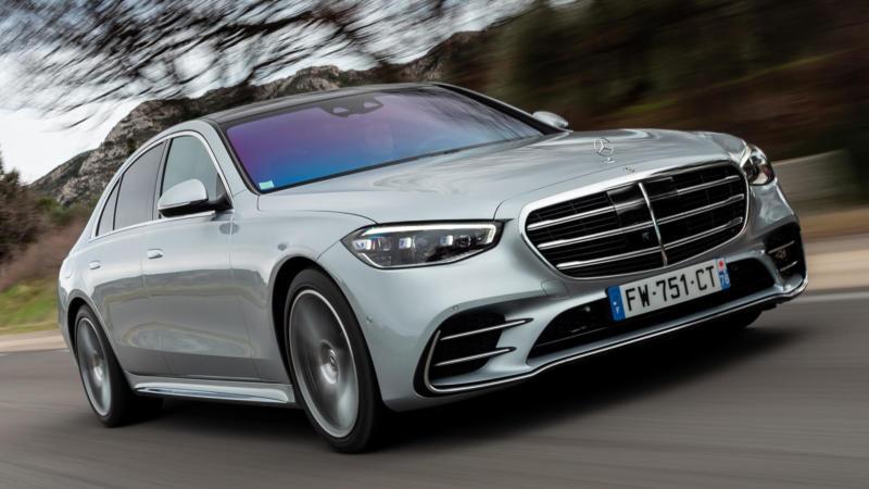 Mercedes-Benz S-Class вид спереди
