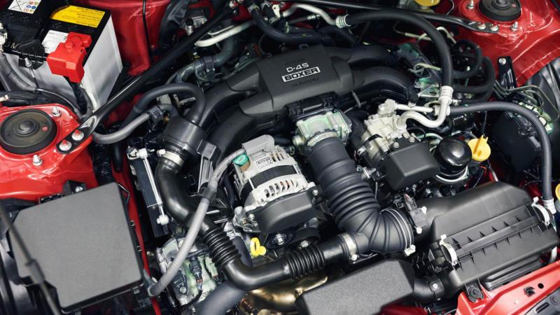 Двигатель Toyota GT 86