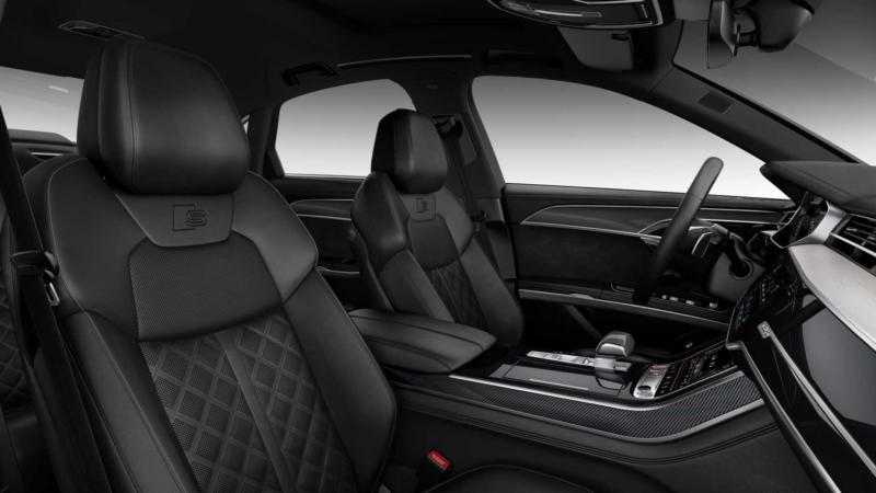 Audi S8 фото салона