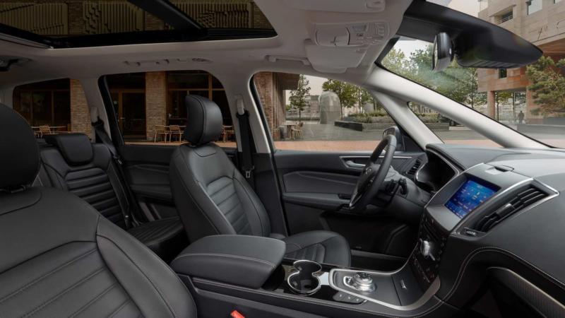 Ford Galaxy фото салона