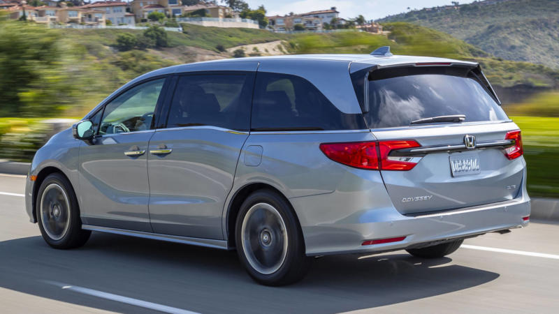 Honda Odyssey фото авто