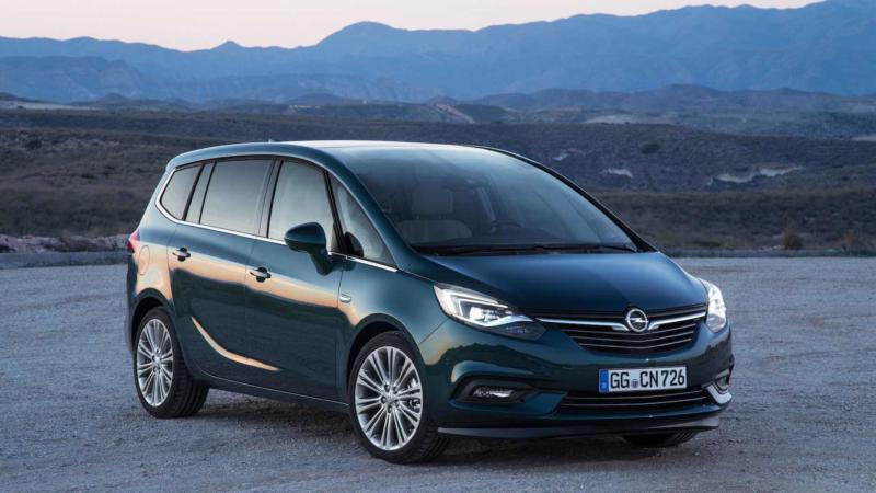 Фото авто Opel Zafira